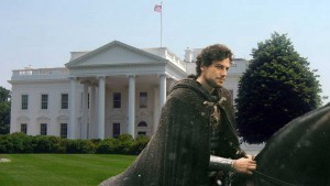 King Arthur returns to rule the land.